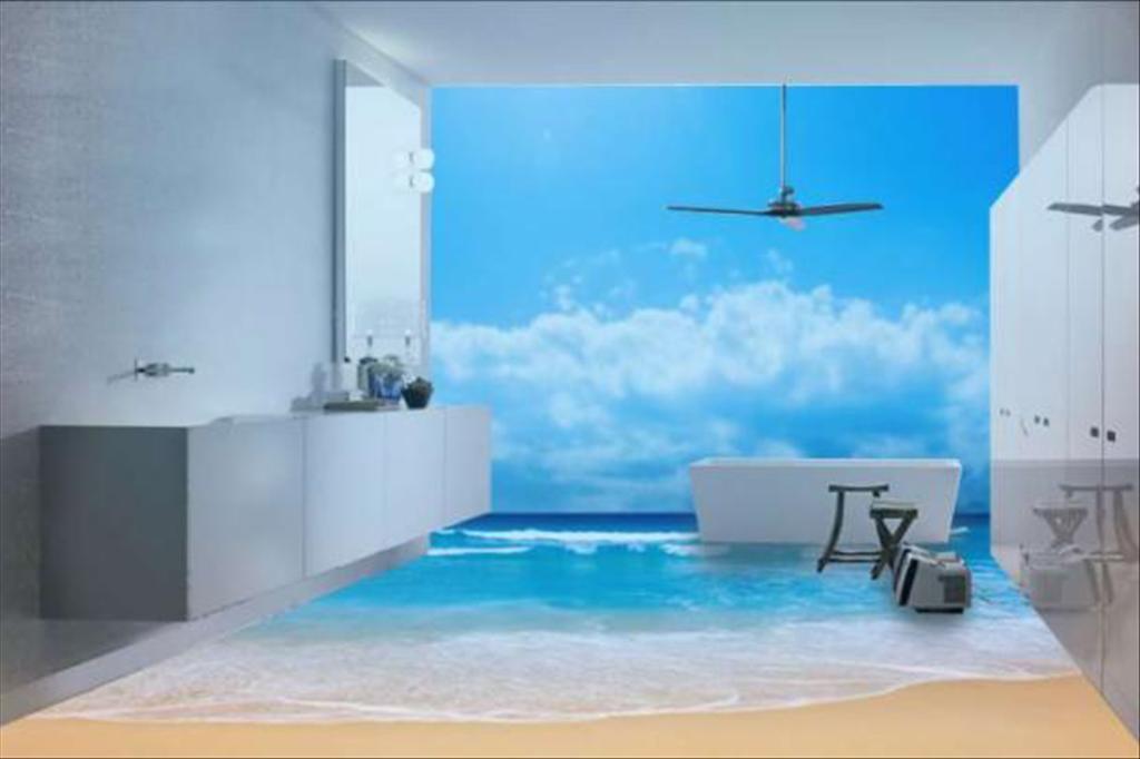 Наливные стены 3d фото